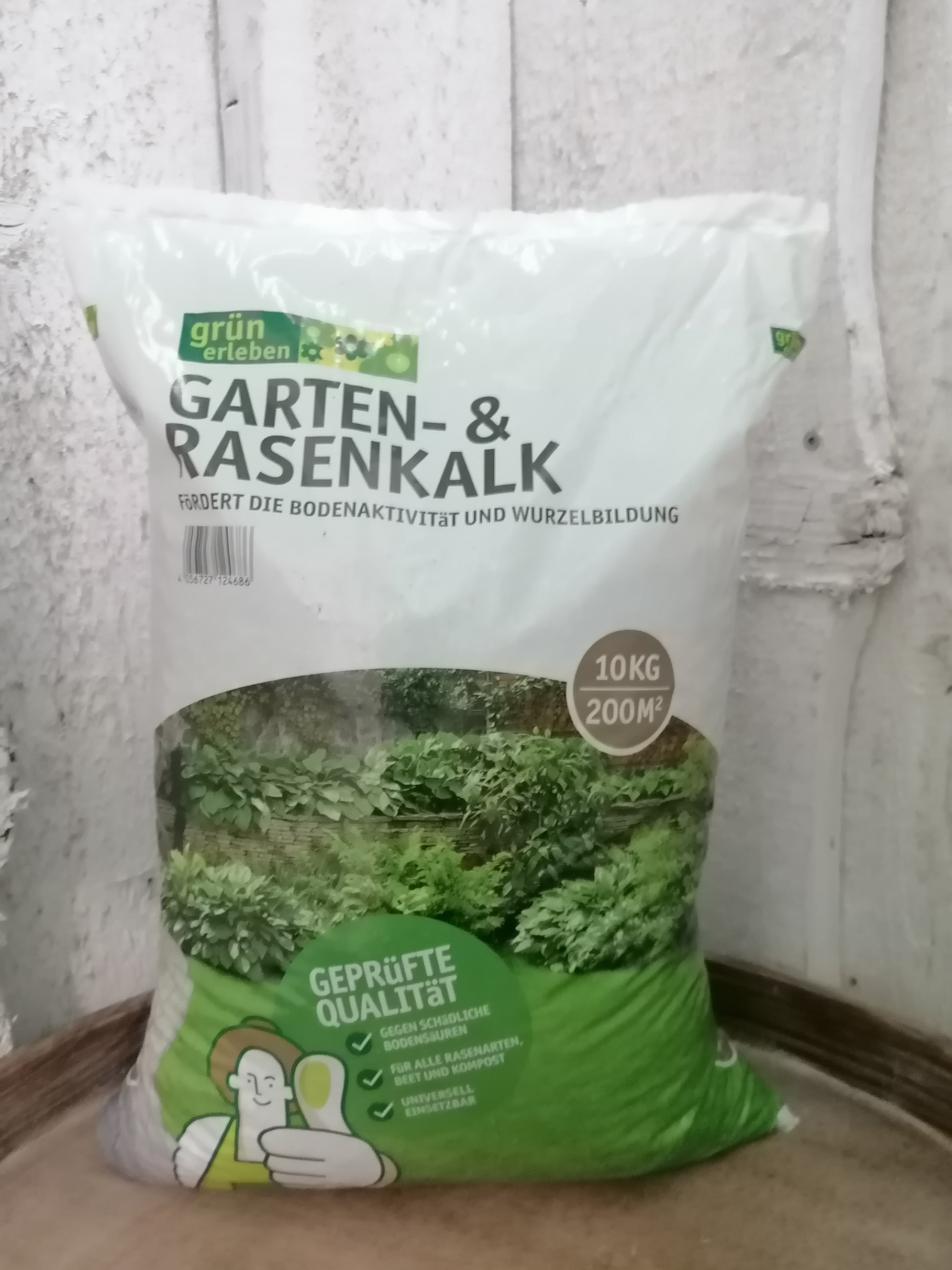 Garten- und Rasenkalk