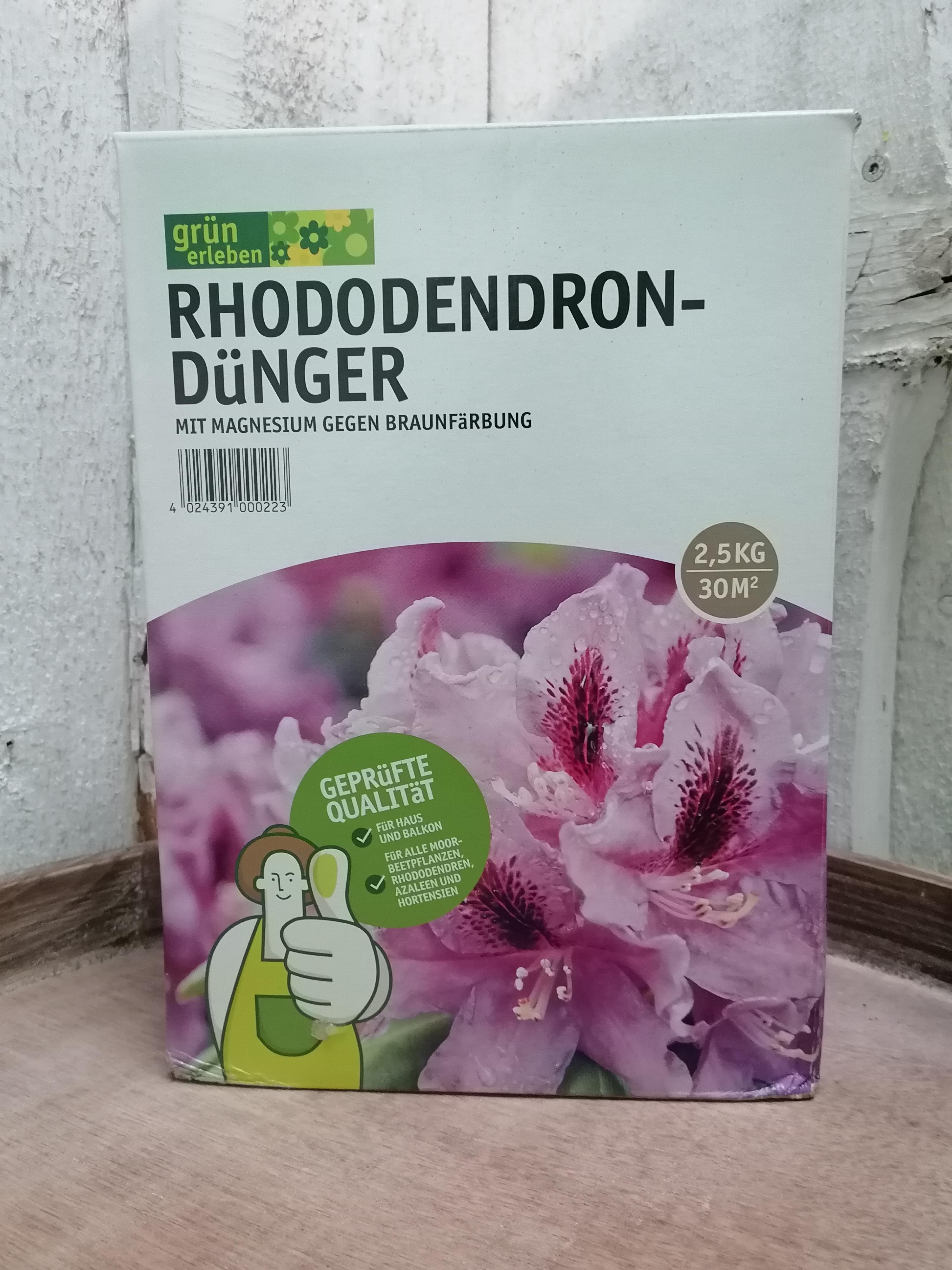 Rhododendrondünger