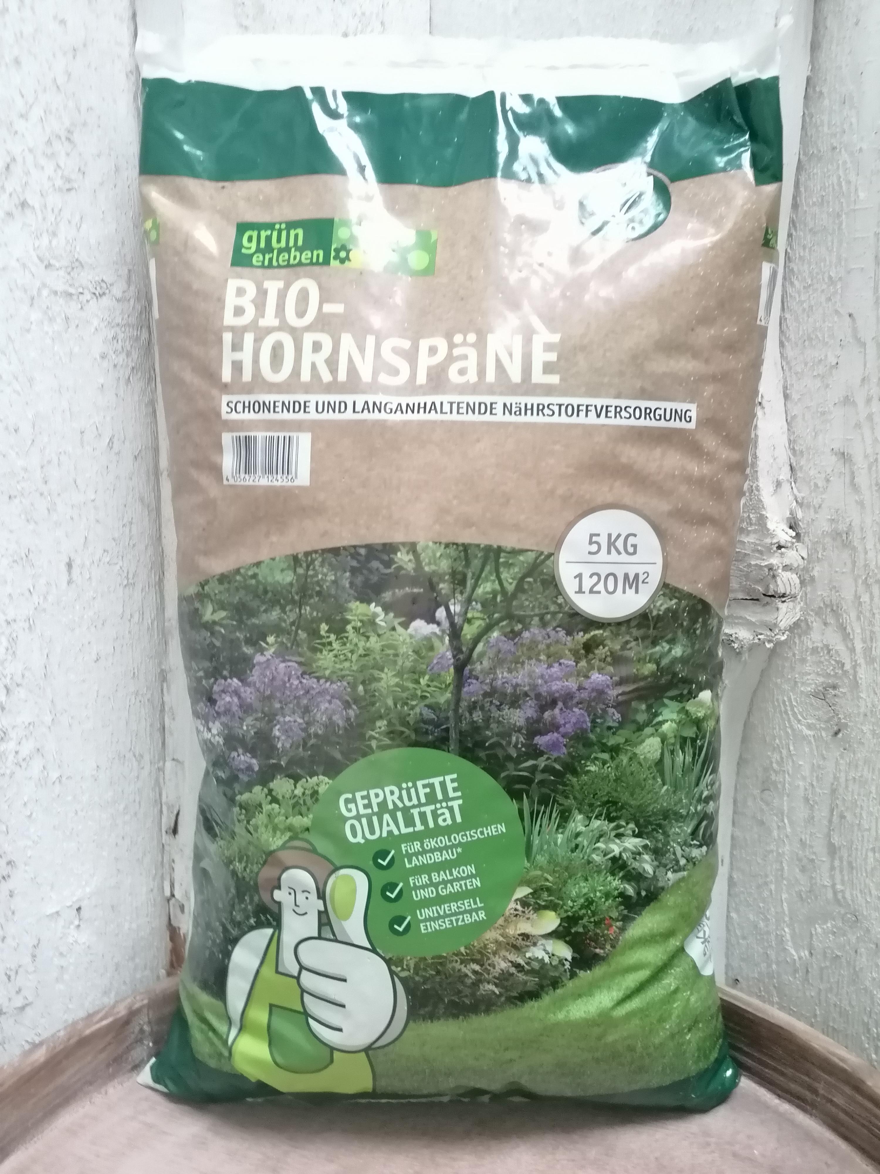 Bio-Hornspäne